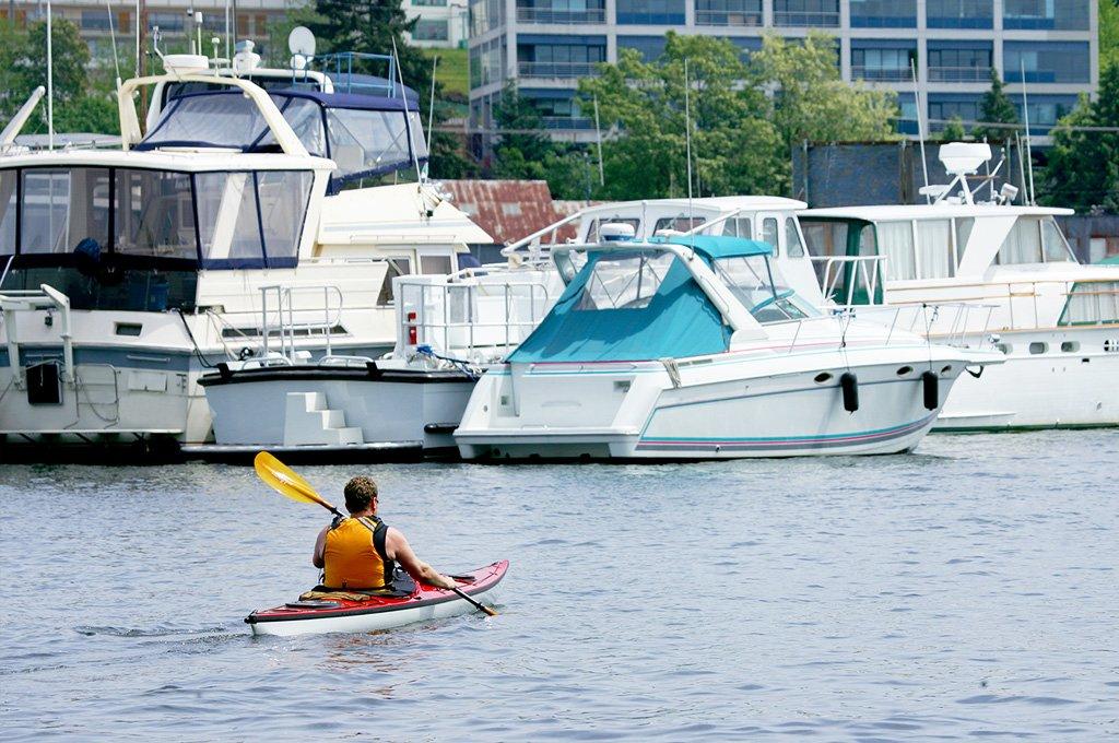 Kayaking in Seattle